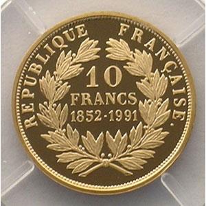 10 Francs   1991    BE