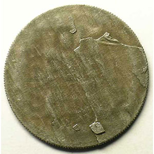 10 Francs   Morlon en cupro-nickel   flan de revers   1946    TTB