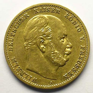10 Mark   1872 A    TTB