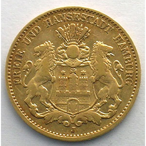 10 Mark   1876 J    TTB