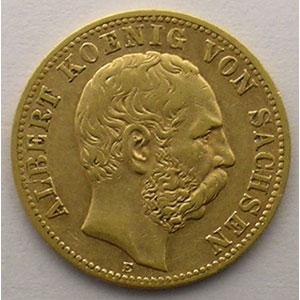 10 Mark   1878 E  (Dresde)    TTB
