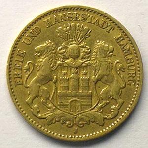 10 Mark   1879 J    TB+