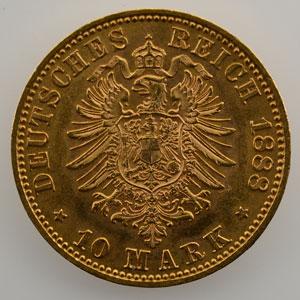10 Mark   1888 A    SUP