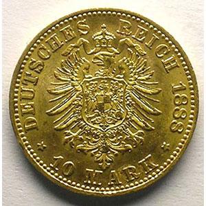 10 Mark   1888 A    TTB+/SUP