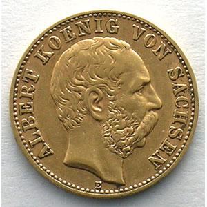 10 Mark   1893 E  (Dresde)    TTB