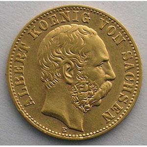 10 Mark   1898 E  (Dresde)    TTB+