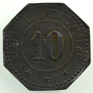 10 (pf)   1917   Zn,8   21 mm   TTB