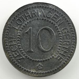 10 (Pf)   Zeche Lothringen Gerthe    TTB