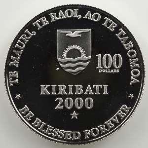 100 Dollars   Paix   2000    FDC