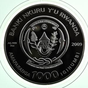 1000 F   2009   Signes du Zodiaques - Lion    FDC