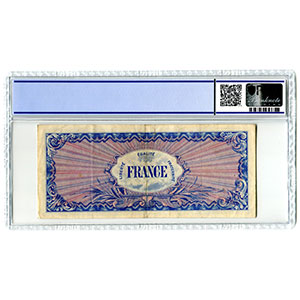 1000 Francs   1944 sans série    TTB+    PCGS- XF40 Details