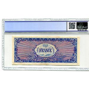 1000 Francs   1944 sans série    TTB+    PCGS- XF40