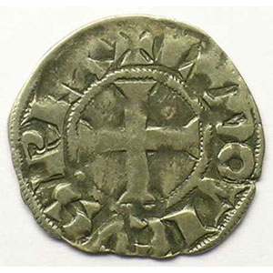 Photo numismatique  Monnaies Monnaies royales fran�aises Louis IX (Saint-Louis)   (1245-1270) Duplessy 193A   Denier Tournois TTB