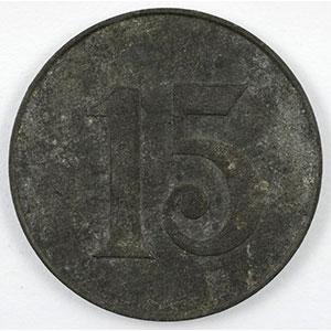 15 (cent.)   Zn, R  20mm    TTB+