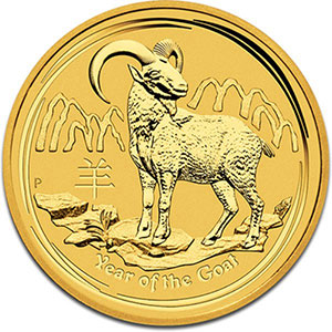 15 Dollars   2015   année de la chèvre (Year of the goat)    BE