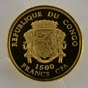 1500 Francs CFA   2007   Napoléon I    BE