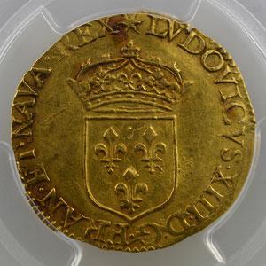 1637 D  (Lyon)    PCGS-AU55    TTB+/SUP