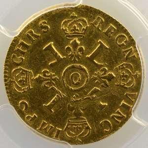 1694 O  (Riom)  réf.   PCGS-AU55    TTB+/SUP
