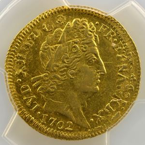 1702 G  réf.  (Poitiers)    PCGS-MS62    SUP/FDC