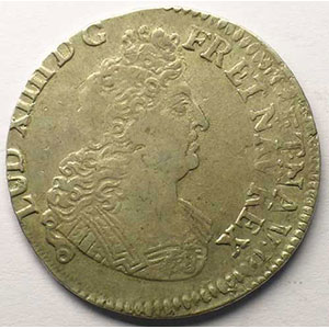 1704 P  réf.  (Dijon)    TB+/TTB