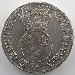 1716 X  (Amiens)  réf.    TTB+