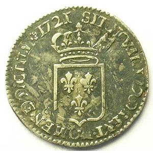 1721 G  réf.  (Poitiers)    TB+/TTB
