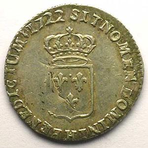1722 H  réf.  (La Rochelle)    TTB