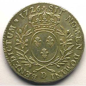 1726 D  (Lyon)    TTB+