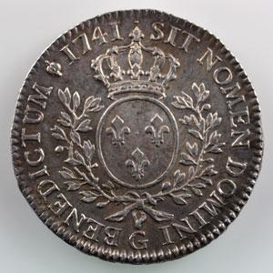 1741 G  (Poitiers)    SUP  flan paillé à l'avers