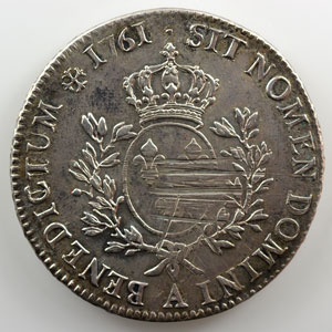 1761 A  (Paris)    TB+/TTB