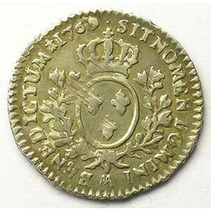 1769 AA croissant  (Metz)    TB+