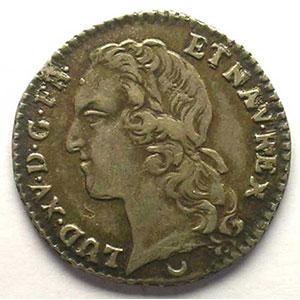 1769 AA croissant  (Metz)    TTB+