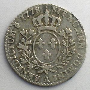 1778 A  (Paris)  1er sem.    TB+/TTB