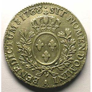1788 A  (Paris)   variété 5/8    TTB