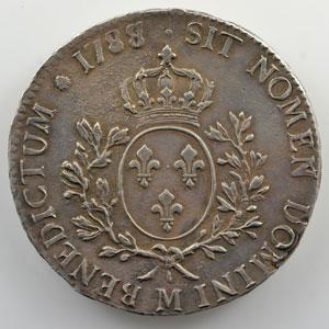 1788 M  (Toulouse) var. 8/7    TTB+