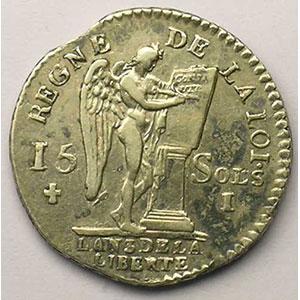1791 I  (Limoges)  1er sem.    TTB/TTB+
