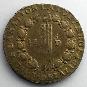 1791 .MA.  (Marseille)    TB+