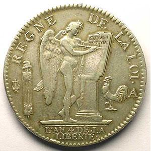 1792 A  (Paris)  1er sem.    TTB/TTB+