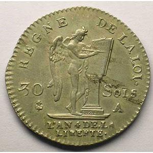 1792 A  (Paris)  1er sem.    TTB+