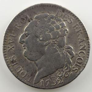 1792 A  (Paris)  2°sem.    TB+
