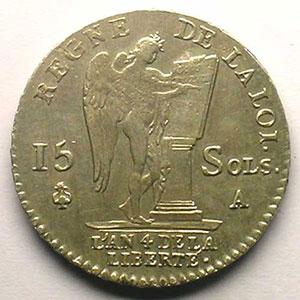 1792 A  (Paris)  2° sem.    TTB