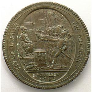 1792  An IV   bronze    TTB+