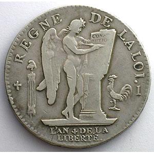 1792 I  (Limoges)  2° sem.    TB+