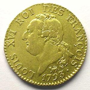 1793 A  (Paris)  An 5    TTB