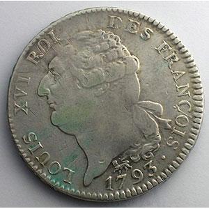 1793 A  (Paris)    TB+/TTB