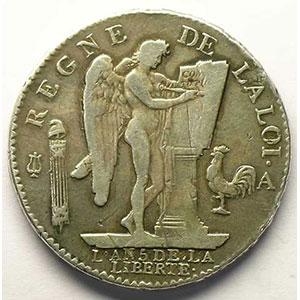 1793 A  (Paris)    TB+