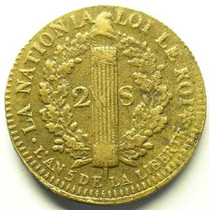1793 BB  (Strasbourg)    TTB