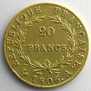 1806 A  (Paris)    TB+/TTB
