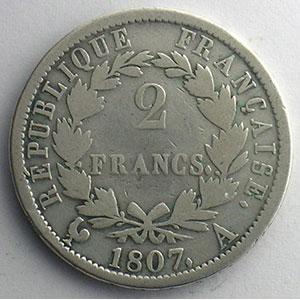 1807 A  (Paris)    B/TB