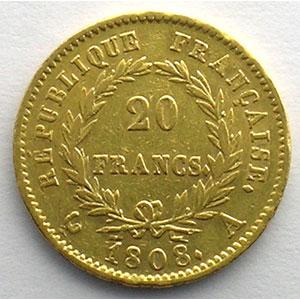 1808 A  (Paris)    TTB